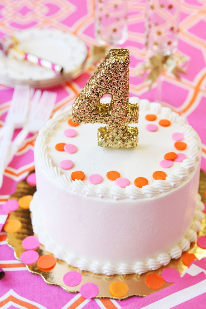 Th Birthday Cake Confetti