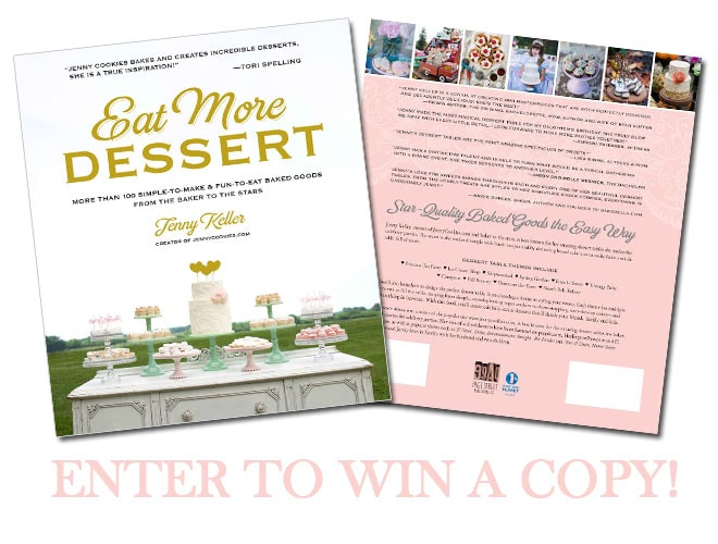 Eat More Dessert Book - Enter to win!