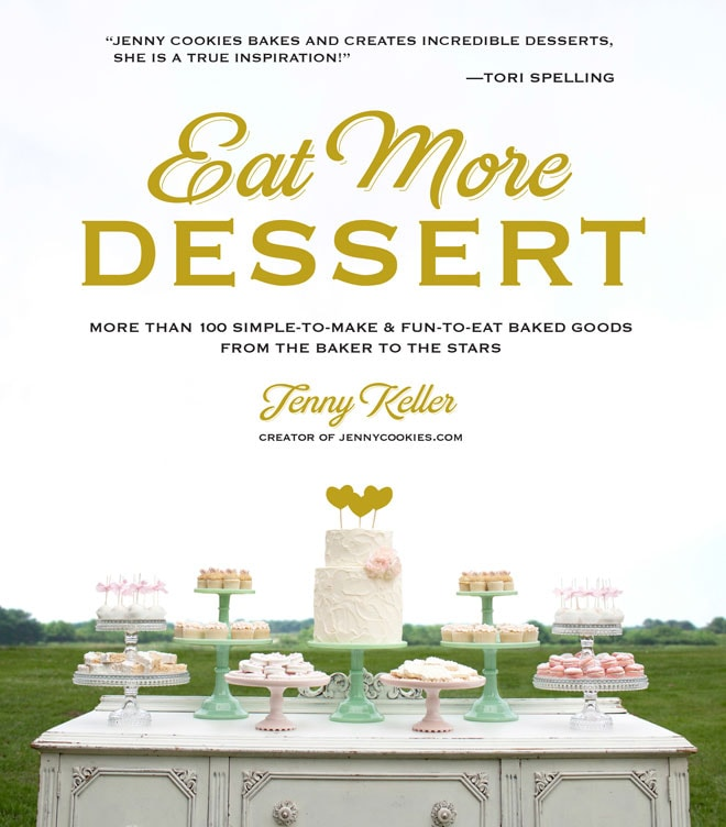 Eat More Dessert Book!