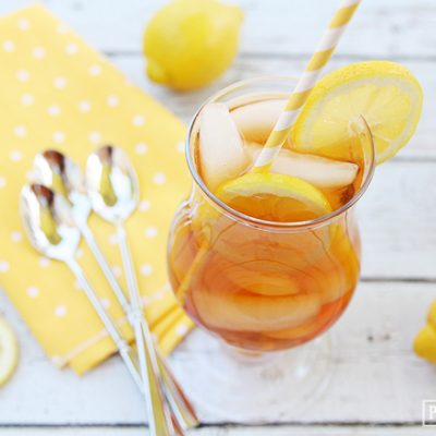 The best Lemon Iced Tea!