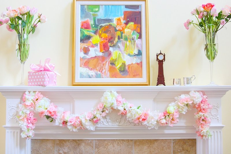 Flower Baby Shower Garland!