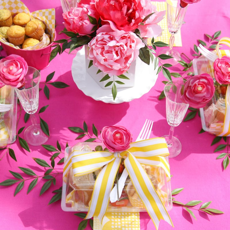 Pink & Yellow Spring Luncheon Party!