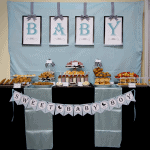 {Party Feature} Modern Chic Baby Shower Brunch