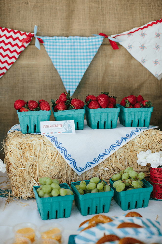 Adorable Vintage County Fair Birthday Party Inspiration and Photos!