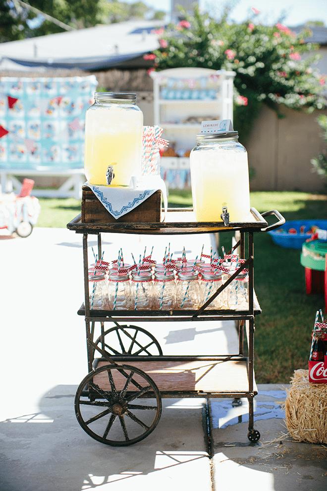 Adorable Vintage County Fair Birthday Party Inspiration and Photos!