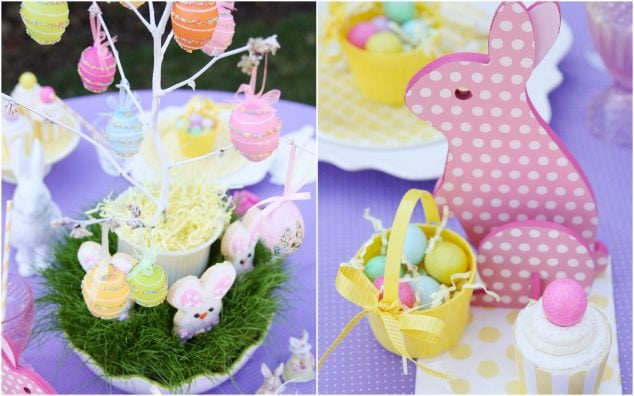 DIY Egg Easter Centerpiece