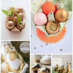 Gold and Glittered Easter Ideas
