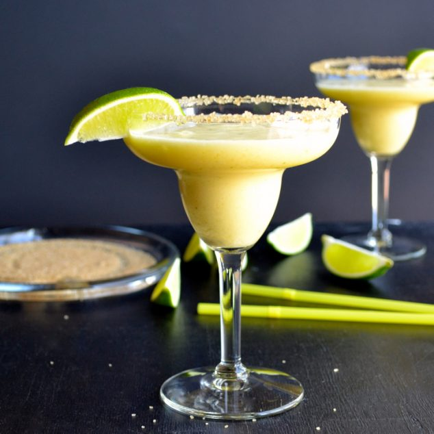 Frozen Tropical Margarita - a Must for Cinco de Mayo!!
