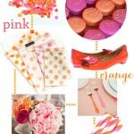 Pink and Orange Party Style!