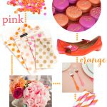Pink + Orange Party Style!