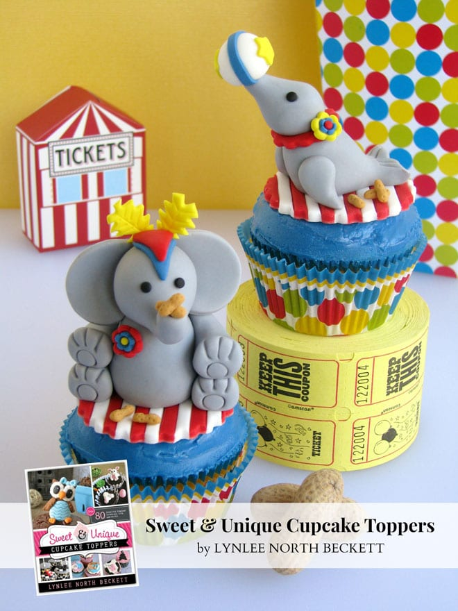 Circus Fondant Decorations!