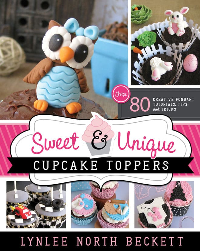 Sweet & Unique Cupcake Toppers Book!!