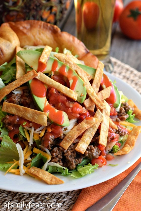 Delicious Taco Salad - Perfect for Cinco de Mayo