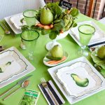 Eco Friendly Tablescape for Earth Day