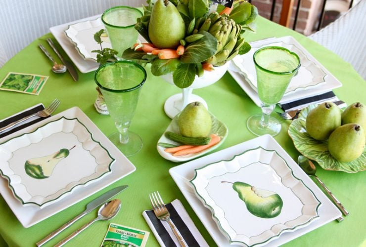 Eco-Friendly Earth Day Tablescape