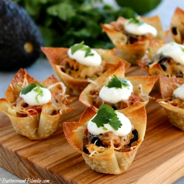 Skinny Taco Cups - Perfect Appetizer for Cinco de Mayo!