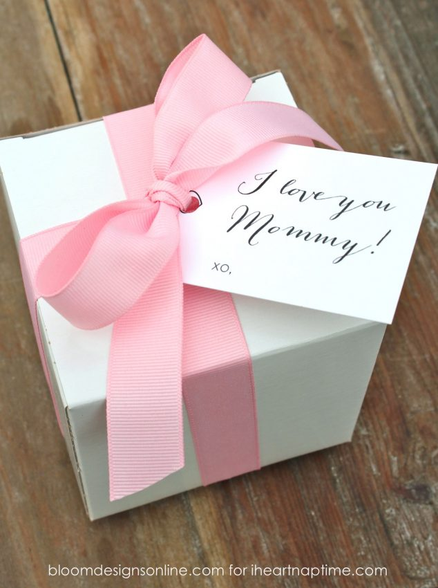 Free Mother's Day Gift Tags