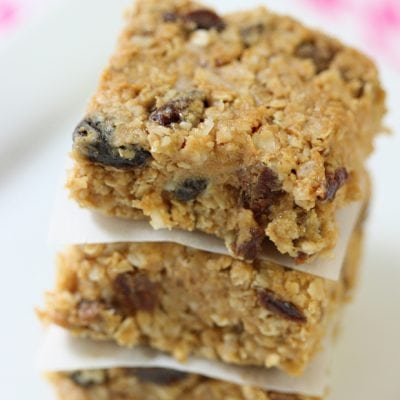 Delicious and easy no-bake energy bars!