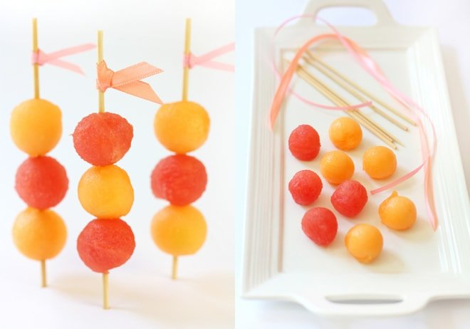 Melon Skewer Stir Sticks