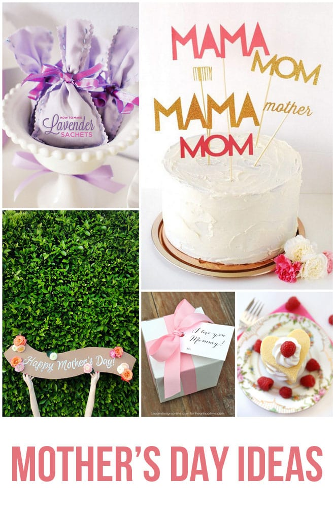 5 Easy Last Minute Ideas for Mother's day!