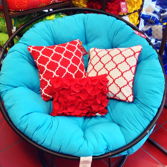 Pier 1 red and blue