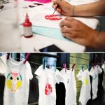Baby Shower Craft: Decorate Onesies