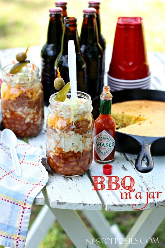 BBQ in a Jar For Father's Day!