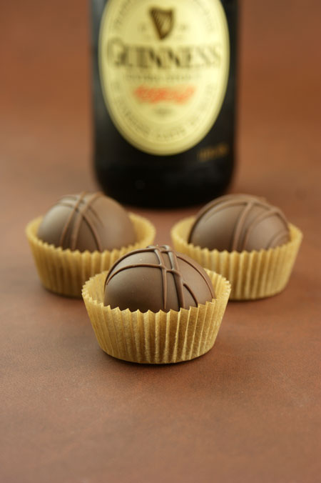 Chocolate Stout Cake Truffles for Father's Day!