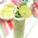 Frozen Basil Blender - the PERFECT refreshing summer cocktail!