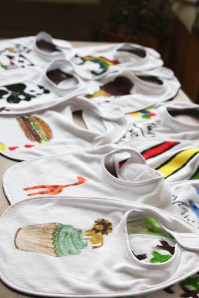 decorate onesies as well as bibs