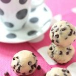 Chocolate Chip Cookie Dough Truffles with ESPRESSO!