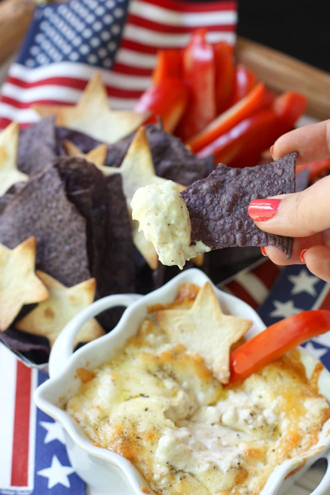 4th of July Patriotic Dip Recipe