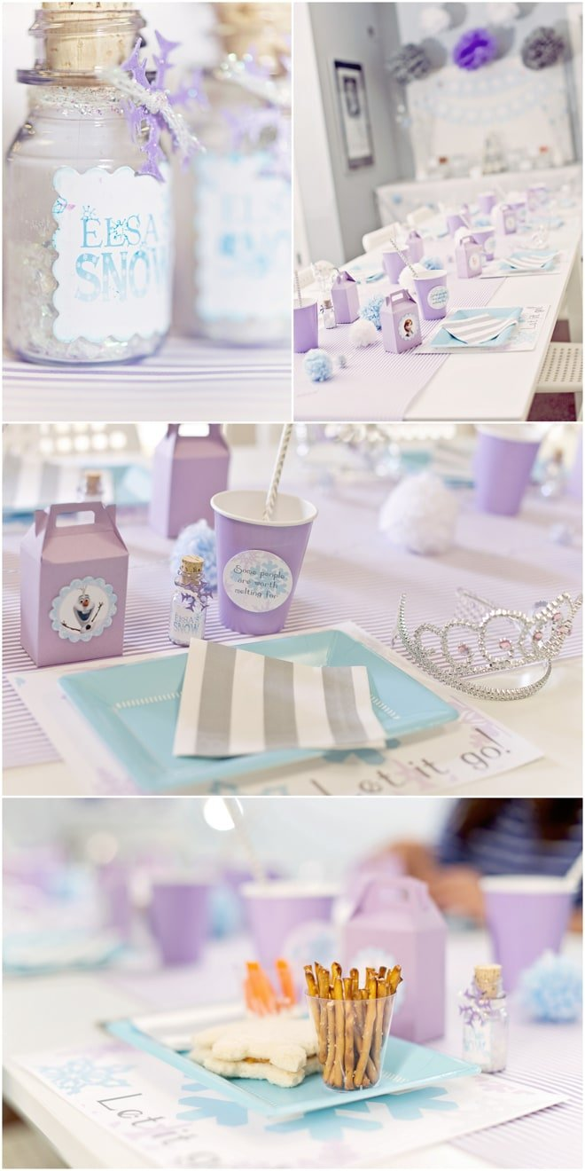 Frozen Inspired Birthday Party! LOVE THESE IDEAS!