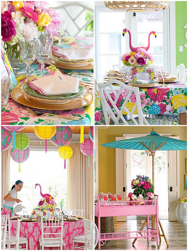 Cocktail Theme Party Ideas Part - 28: Lilly Pulitzer Inspired Luncheon