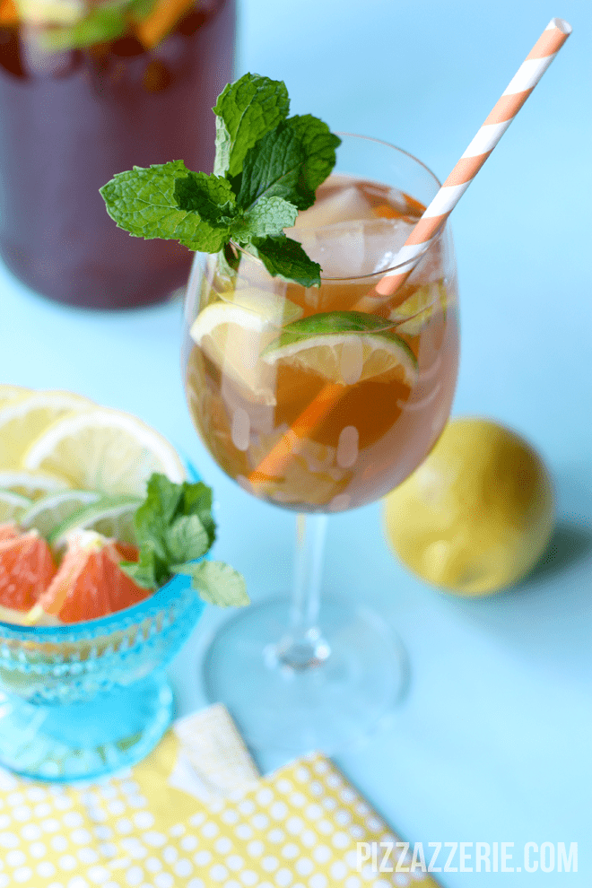 Citrus Iced Tea Sangria