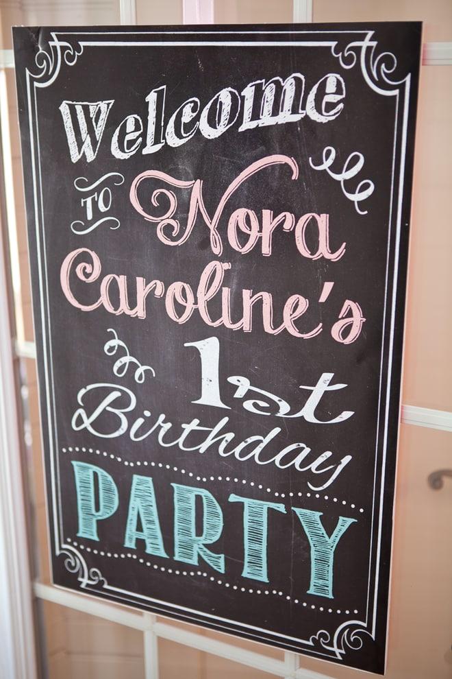 Shabby Chic 1st Birthday Party!