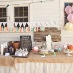 Sweet Shabby Chic 1st Birthday Party