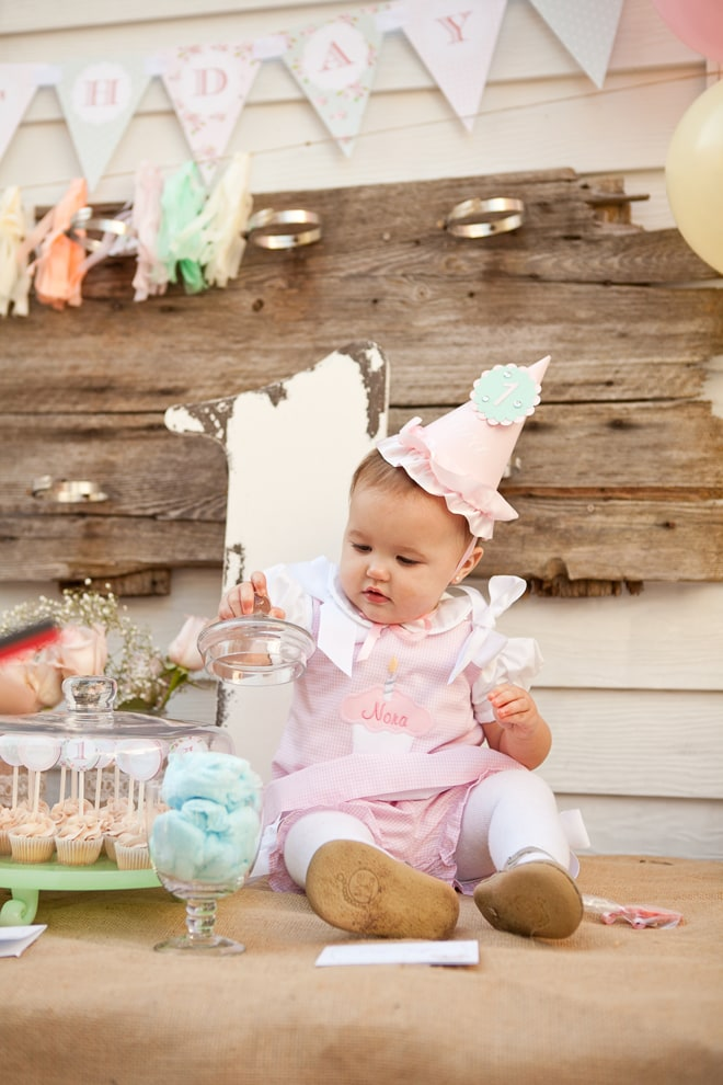 Shabby Chic 1st Birthday Party!