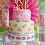 Lilly Pulitzer Cake