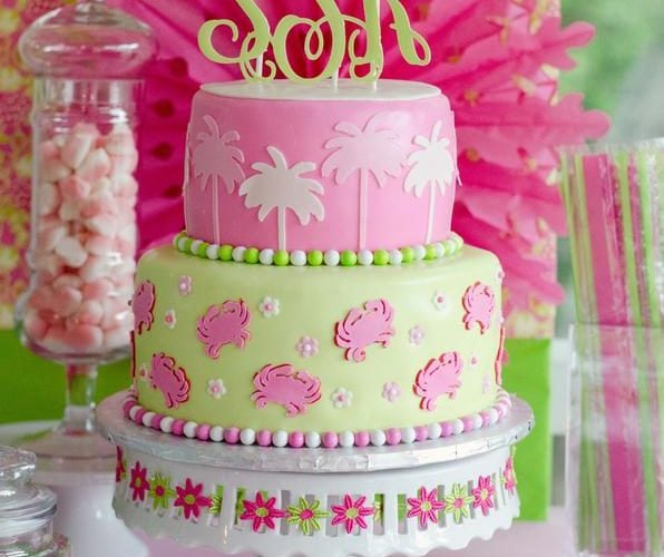 Lilly Pulitzer Inspired Party Ideas