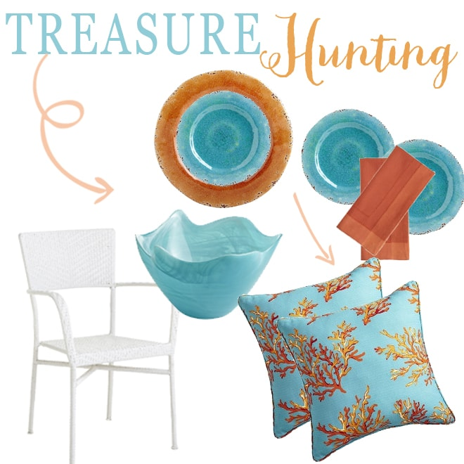 treasure hunting for outdoor summer parties