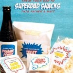 Clever gifts for Father's Day - Superdad snacks!