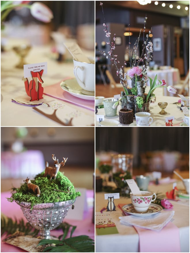 woodland tea party baby shower pizzazzerie
