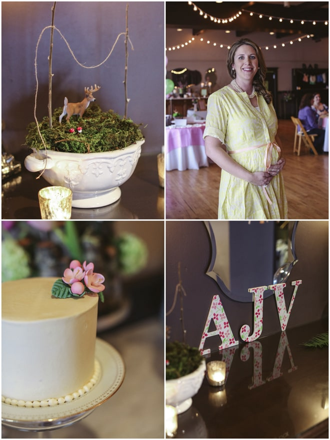 Woodland Tea Party Baby Shower