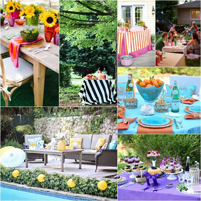 7 Summer Soirees to Love!