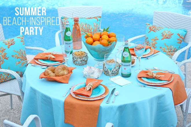 Summer Beach-Inspired Party