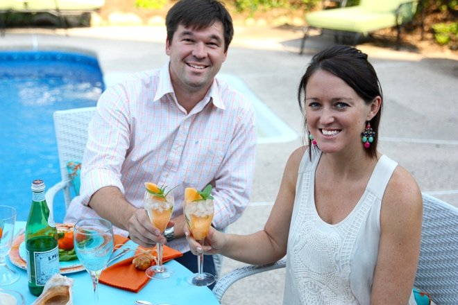 Beach inspired Aqua and coral Summer Party!