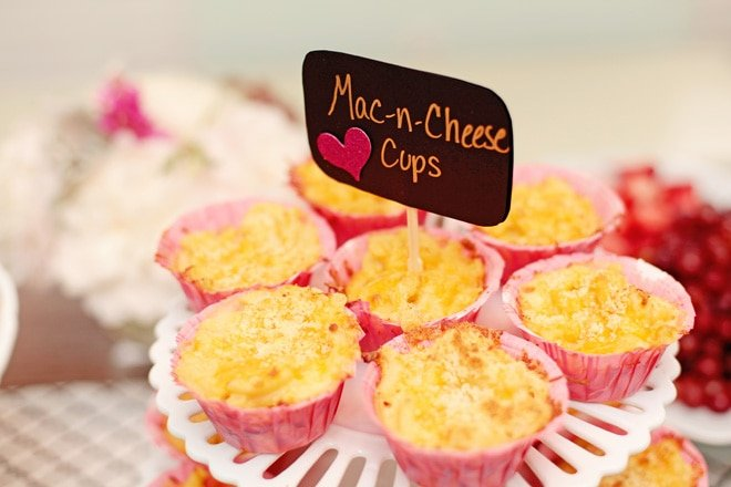 Mac and Cheese Cups for a Party!