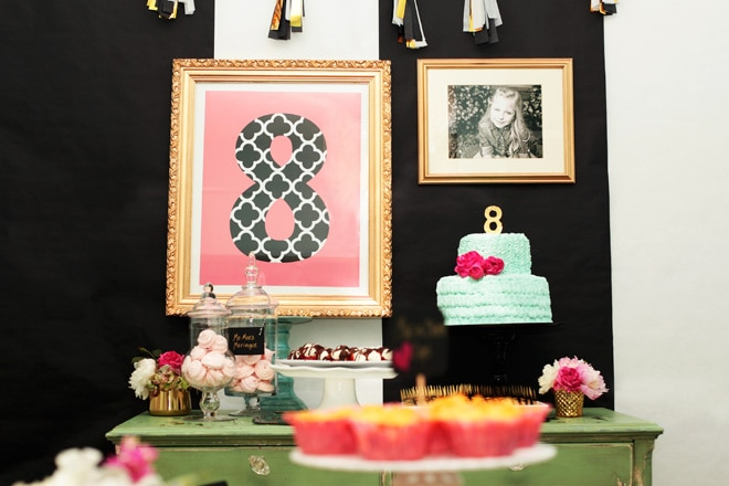Darling 8th Birthday Party Idea