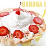 Recipe // Banana Split Pie